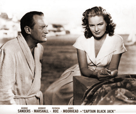 American lobby card from Captain Blackjack [Black Jack] (1950) (1)