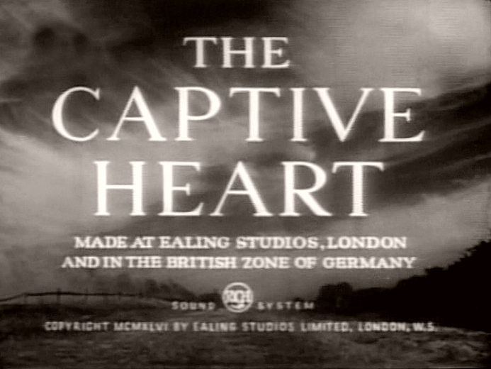 Main title from The Captive Heart (1946)