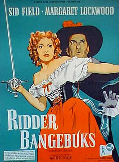 Danish poster for Cardboard Cavalier (1949) (1)