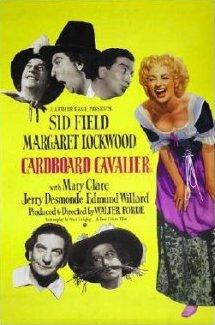 Poster for Cardboard Cavalier (1949) (2)