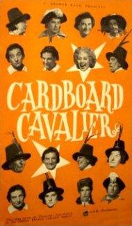 Poster for Cardboard Cavalier (1949) (3)
