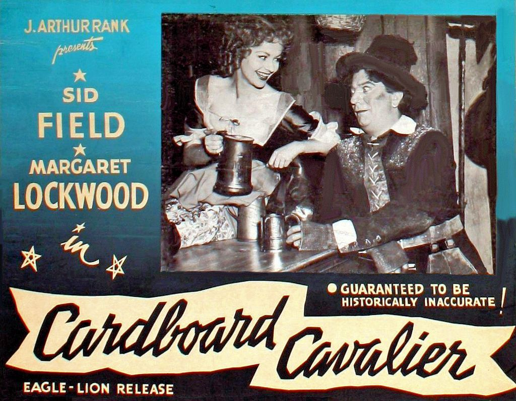 Poster from Cardboard Cavalier (1949) (5) featuring Margaret Lockwood and Sid Field