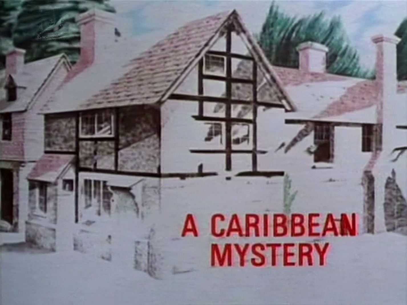 Main title from the 1989 'A Caribbean Mystery' episode of Agatha Christie's Miss Marple (1984-1992) (1)