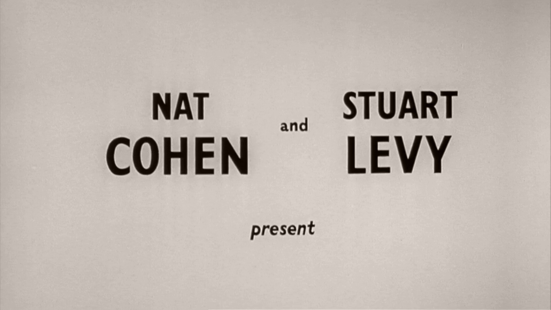 Main title from Carry On Nurse (1959) (2)