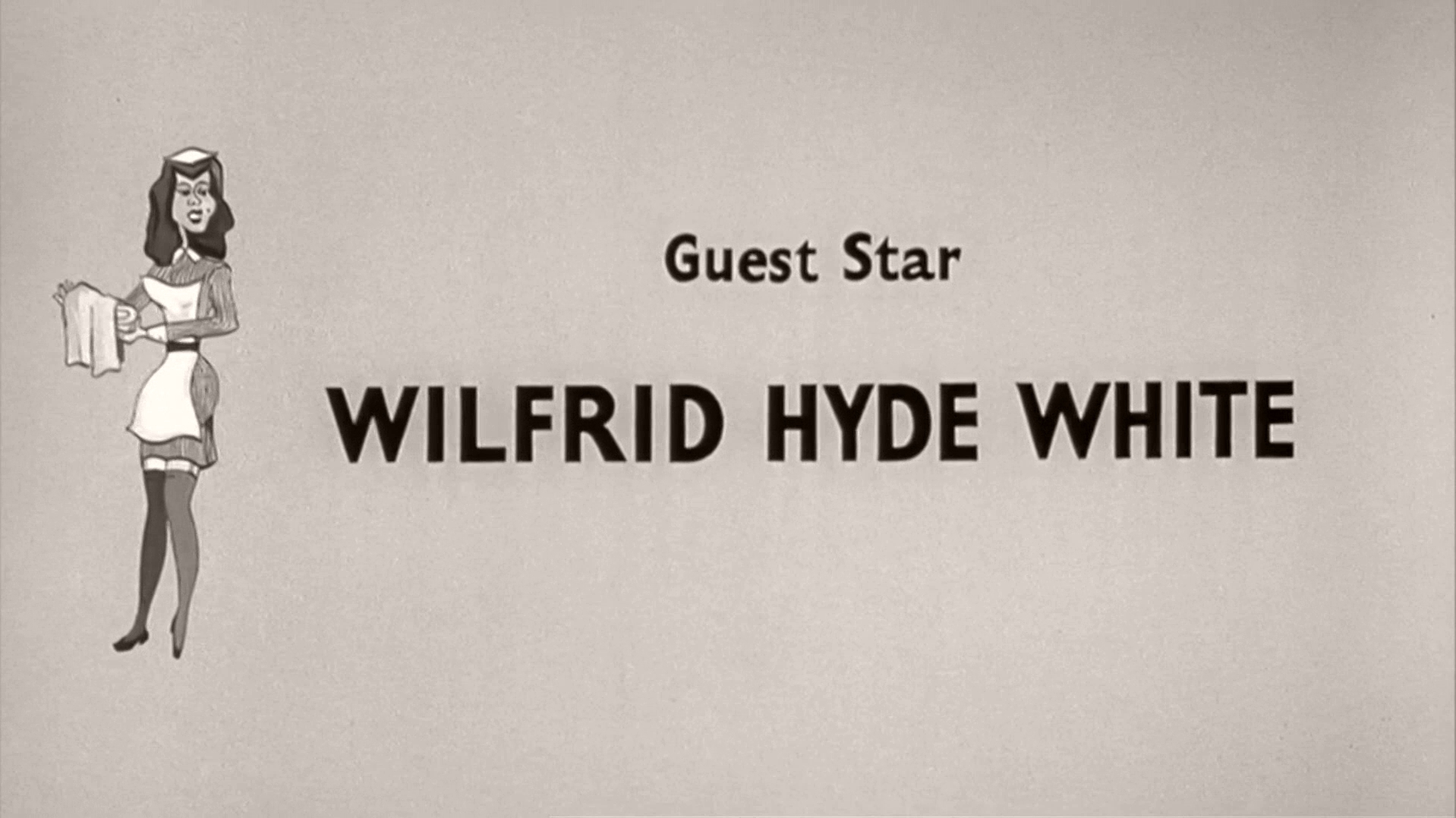 Main title from Carry On Nurse (1959) (6). Guest star Wilfrid Hyde-White