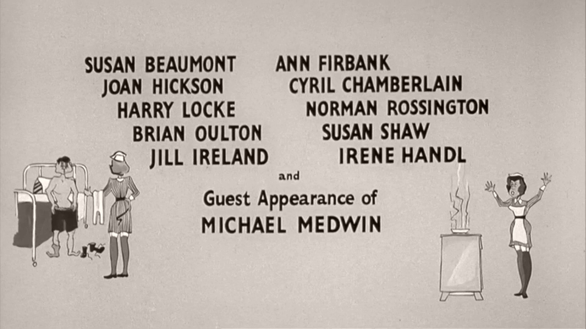 Main title from Carry On Nurse (1959) (7)