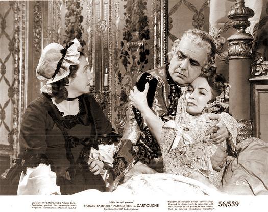 Patricia Roc (as Donna Violante) in a photograph from Cartouche (1954) (2)