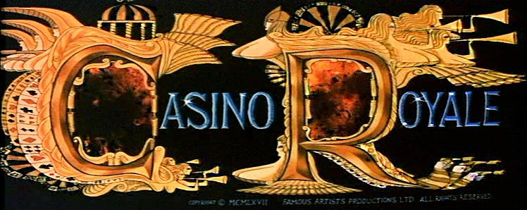 Main title from Casino Royale (1967) (3).  Copyright 1967 Famous Artists Productions Ltd.  All rights reserved