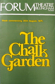 Programme from The Chalk Garden (1971) at the Forum Theatre, Billingham (1)