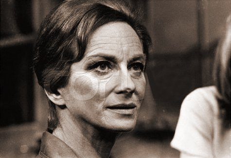 Joan Greenwood (as Miss Madrigal) in a photograph from The Chalk Garden (1971) (3)