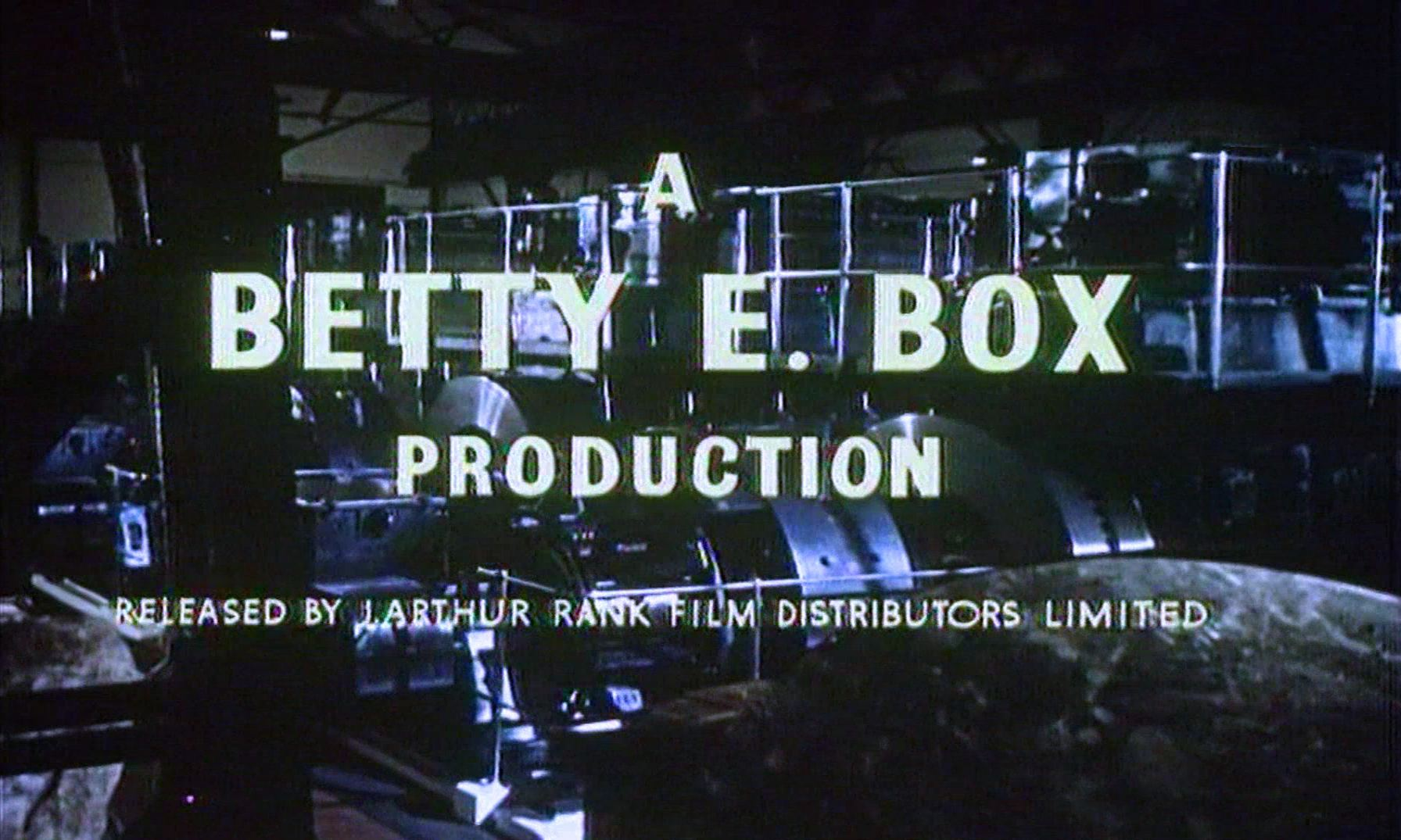 Main title from Checkpoint (1956) (2). A Betty E Box production