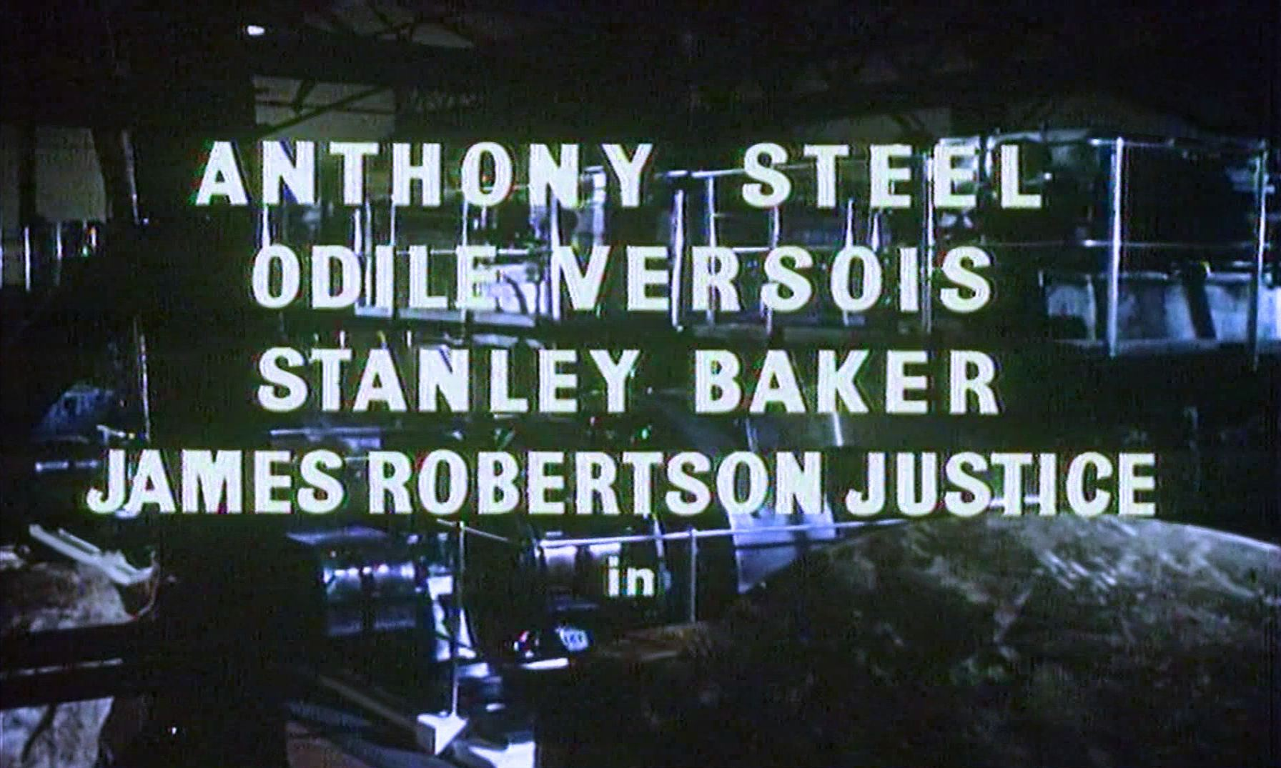 Main title from Checkpoint (1956) (3). Anthony Steel, Odile Versois, Stanley Baker, James Robertson Justice in