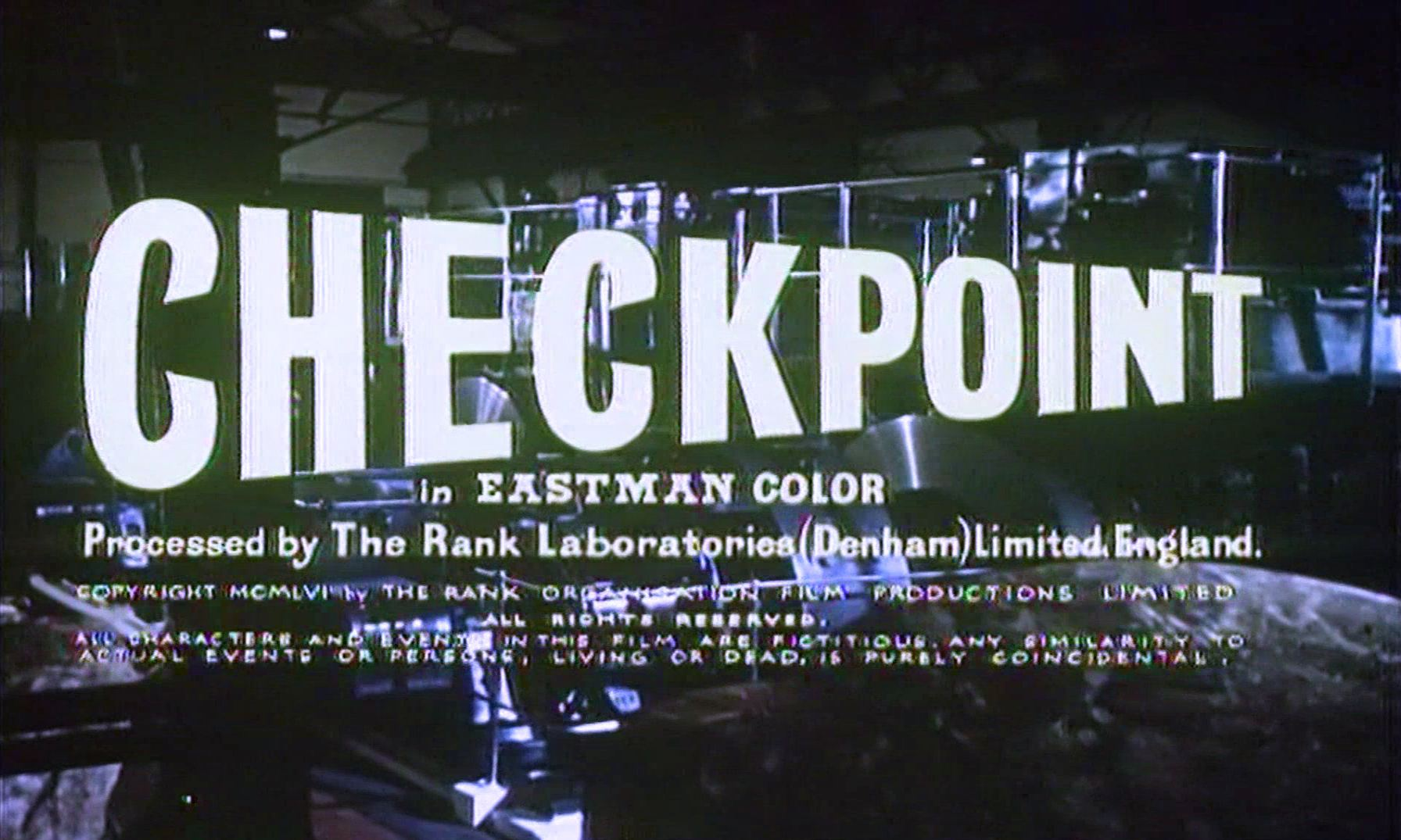 Main title from Checkpoint (1956) (4)