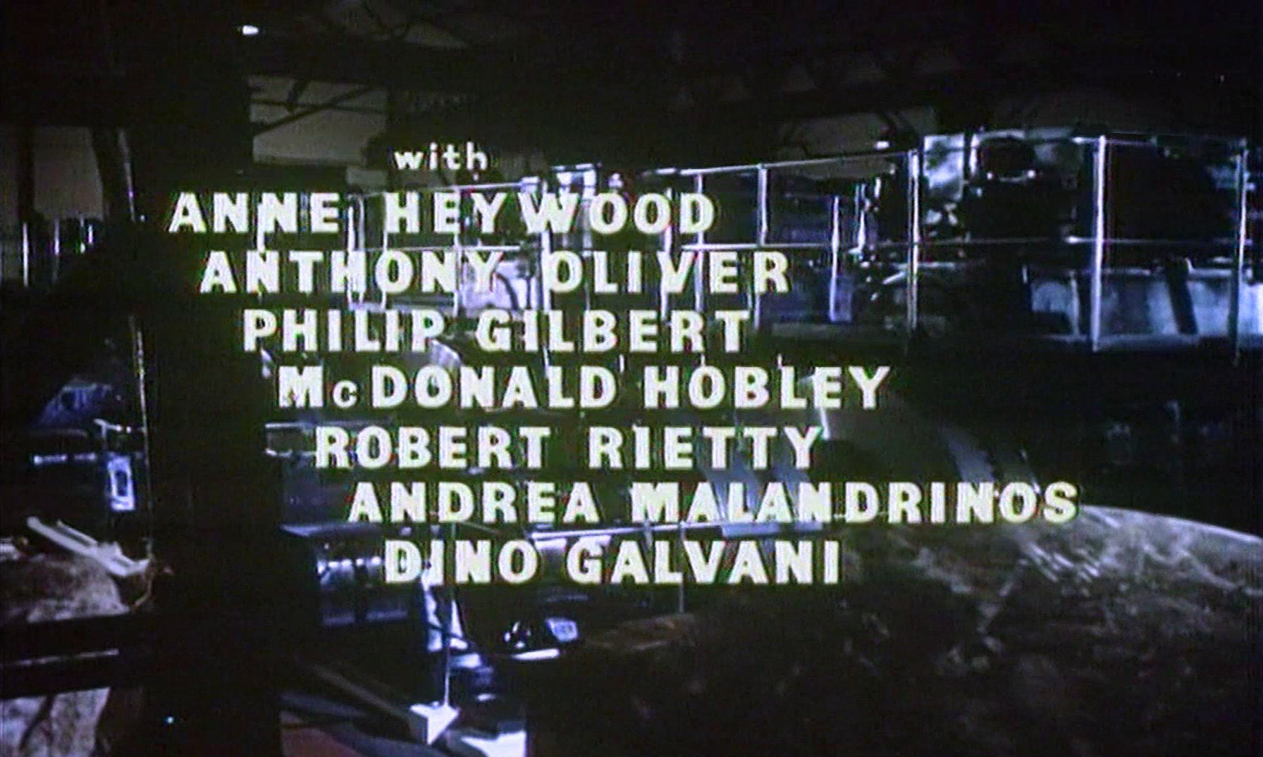 Main title from Checkpoint (1956) (6). With Anne Heywood, Anthony Oliver, Philip Gilbert, MacDonald Hobley, Robert Rietty