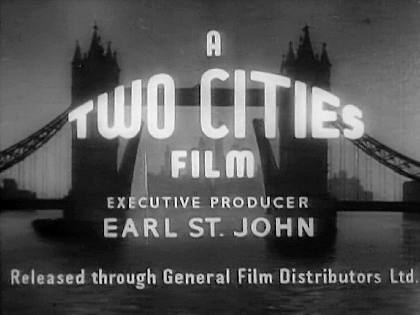 Main title from The Chiltern Hundreds (1949) (2). Two Cities Films. Executive producer Earl St John
