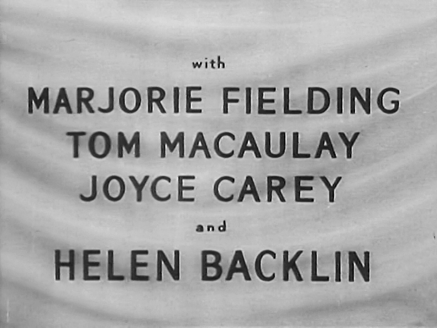 Main title from The Chiltern Hundreds (1949) (5). Marjorie Fielding, Tom Macaulay, Joyce Carey, Helen Backlin