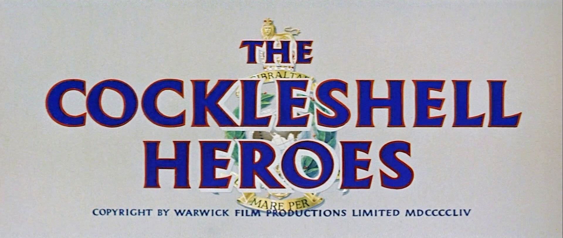 Main title from The Cockleshell Heroes (1955) (3).  Copyright by Warwick Film Productions Limited 1954