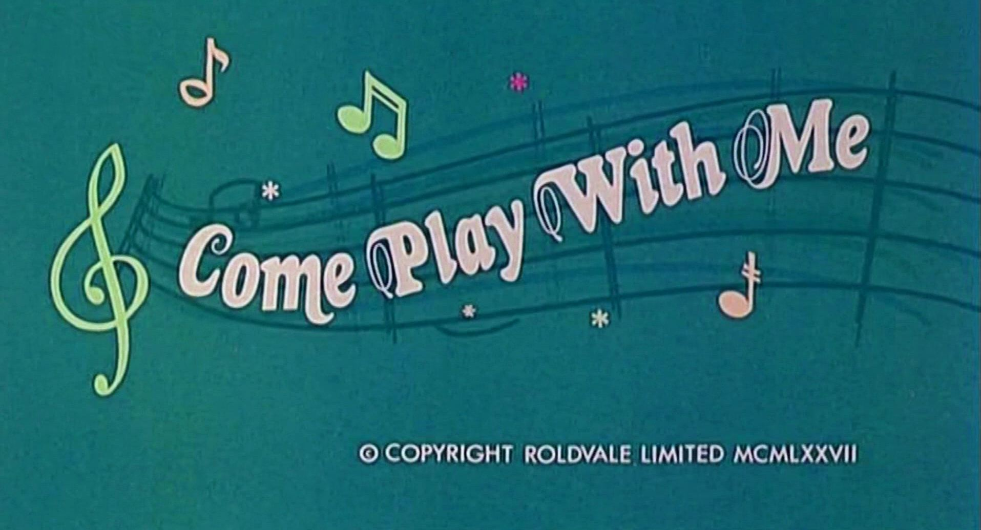 Main title from Come Play with Me (1977) (4)  Copyright Roldvale Limited 1977