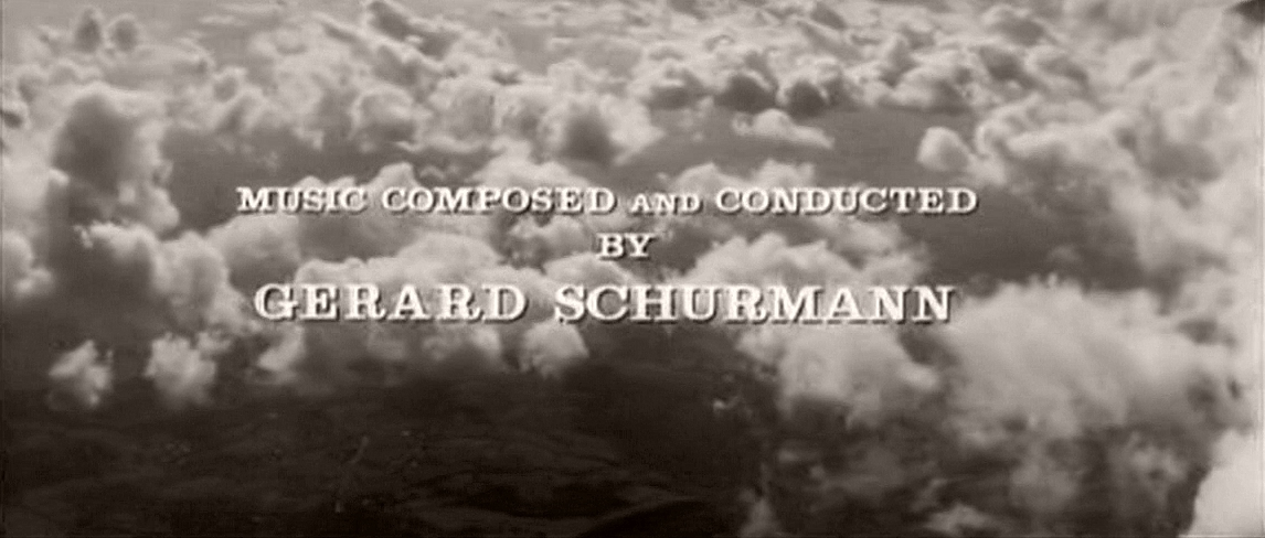 Main title from Cone of Silence (1960) (11).  Music composed and conducted by Gerard Schurmann
