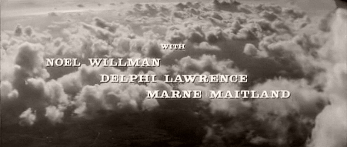 Main title from Cone of Silence (1960) (5).  With Noel Willman Delphi Lawrence, Marne Maitland