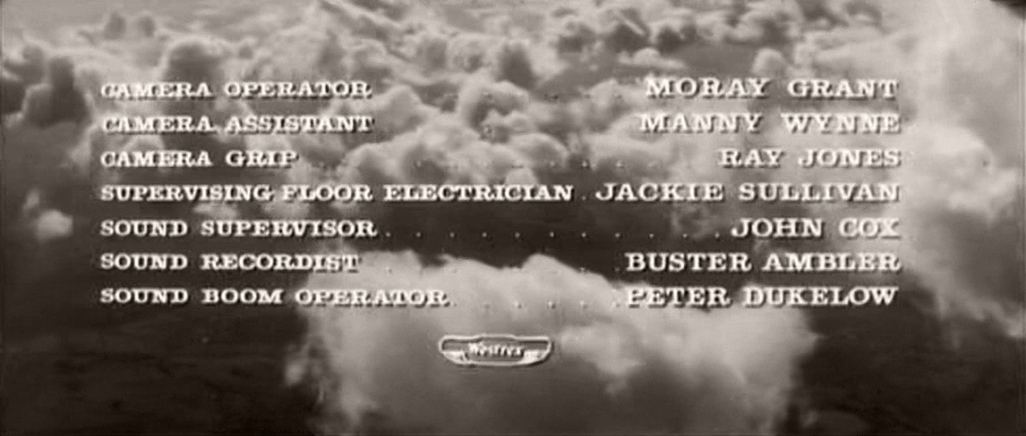 Main title from Cone of Silence (1960) (9)