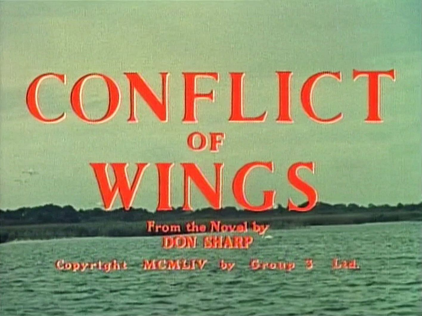 Opening credits from Conflict of Wings (1954) (1)