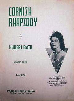 Sheet music from the 1944 film, Love Story (Cornish Rhapsody)
