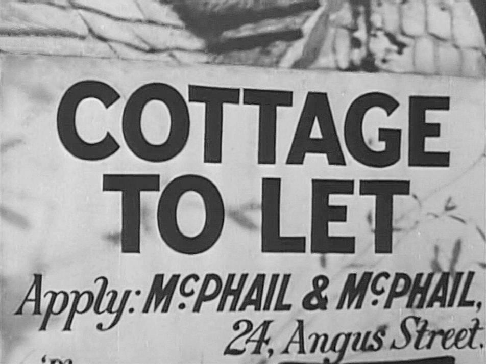 Main title from Cottage to Let (1941)