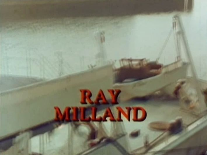 Main title from Cruise Into Terror (1978) (9). Ray Milland