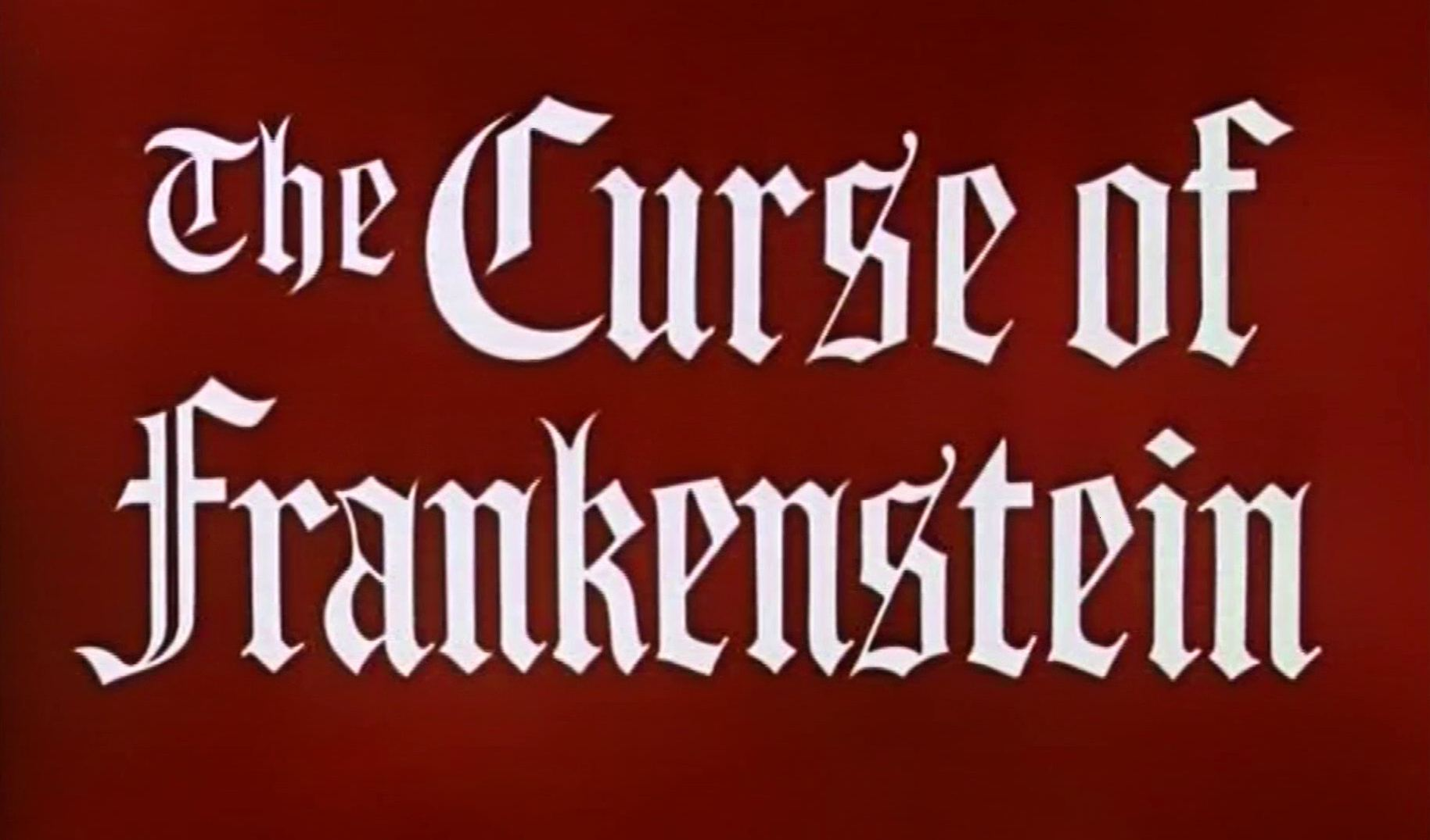 Main title from The Curse of Frankenstein (1957) (3)