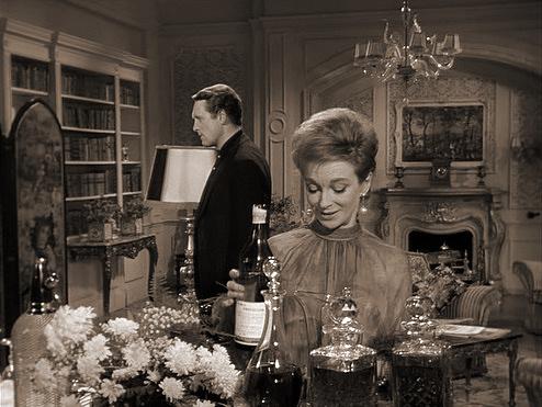 Patrick McGoohan and Joan Greenwood (as Nandina) in a photograph from Danger Man (1960-62) (8)