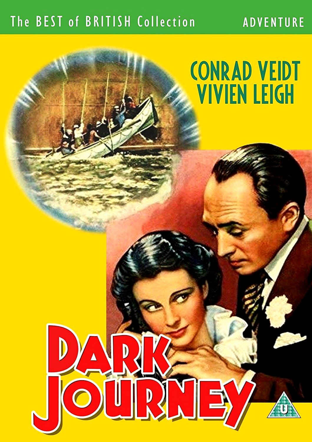 Dark Journey DVD from Screenbound Pictures and The Best of British Collection (Adventure).  Conrad Veidt Vivien Leigh