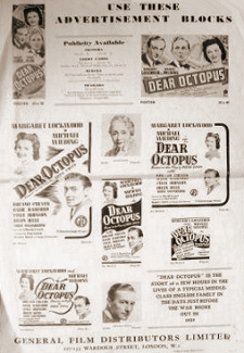 Poster for Dear Octopus (1943) (1)