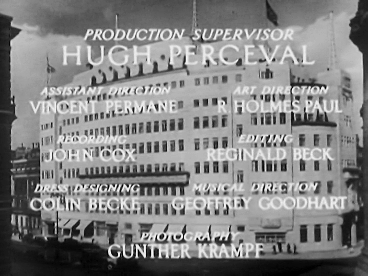 Main title from Death at Broadcasting House (1934) (2)