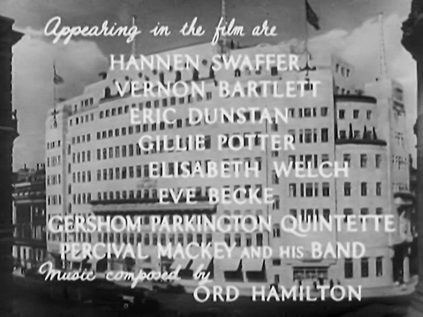 Main title from Death at Broadcasting House (1934) (3)