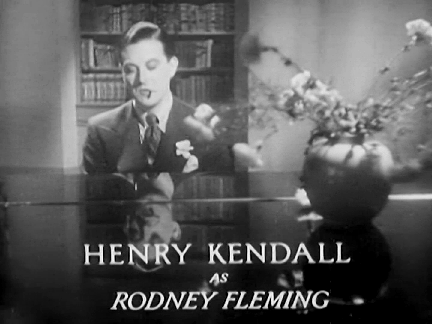 Main title from Death at Broadcasting House (1934) (7). Henry Kendall as Rodney Fleming