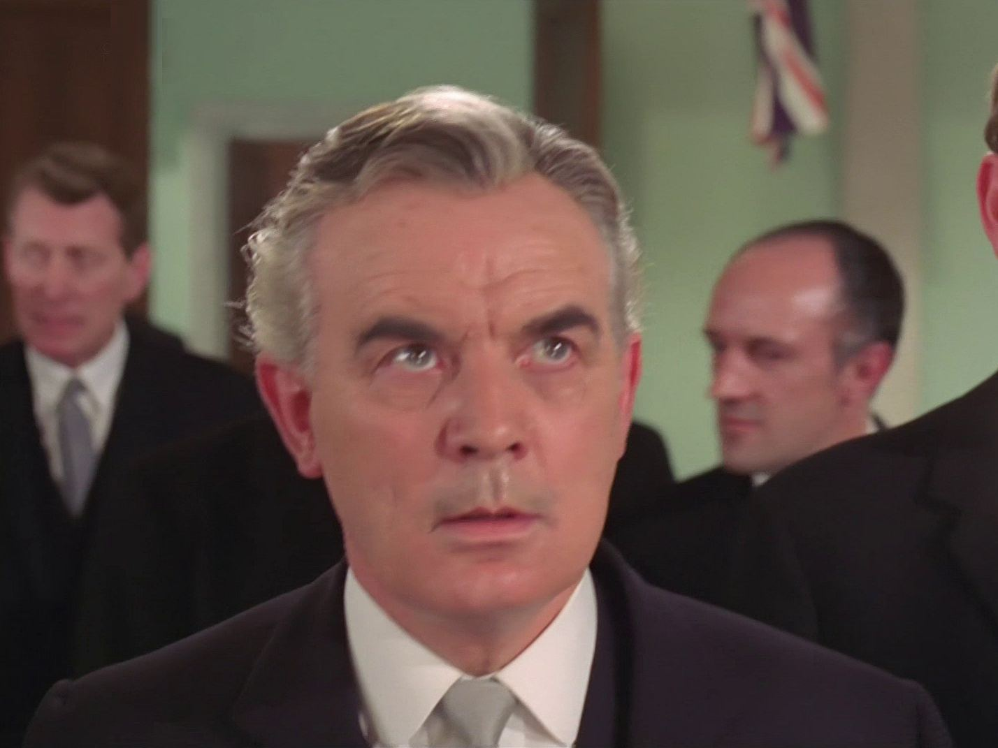 Screenshot from the 1967 'Death's Door' episode of The Avengers (1961-69) (1) featuring Clifford Evans