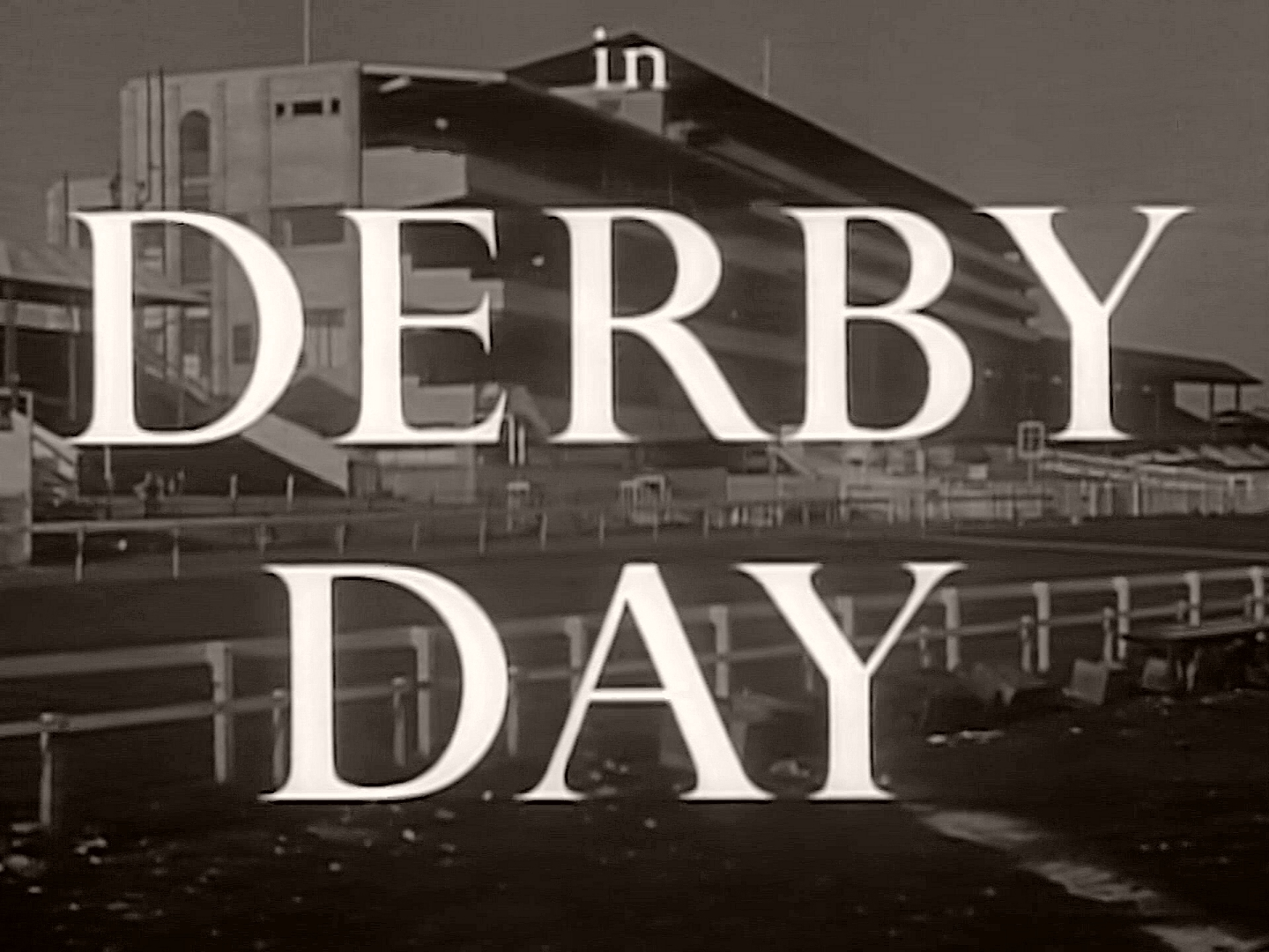 Main title from Derby Day (1952) (7)