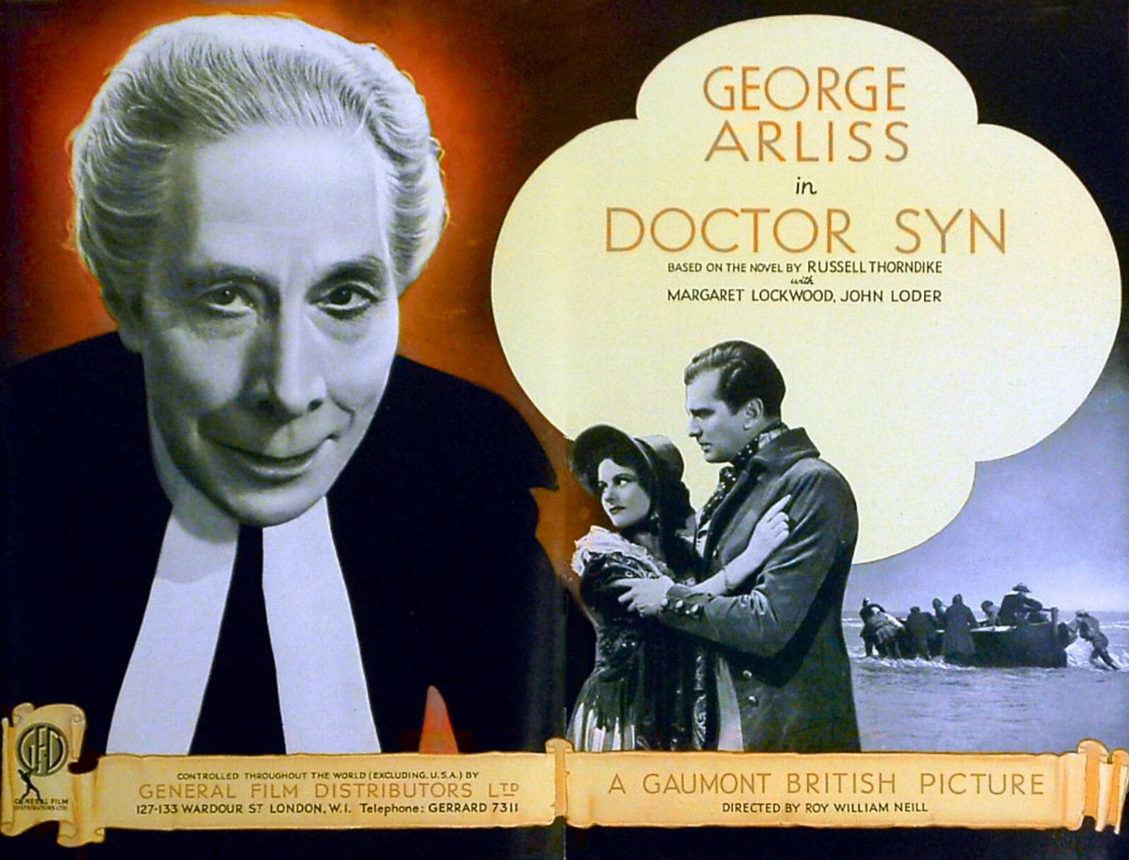 Poster for Doctor Syn (1937) (1)
