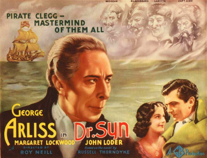 Poster for Doctor Syn (1937) (4)
