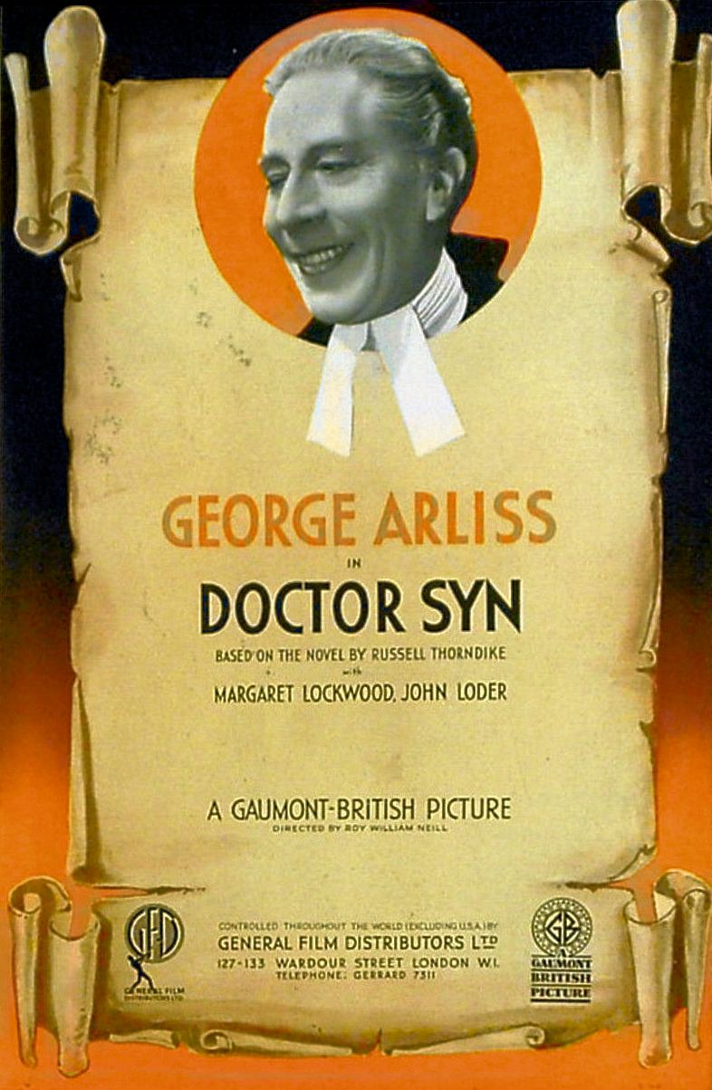 Poster for Doctor Syn (1937) (5)