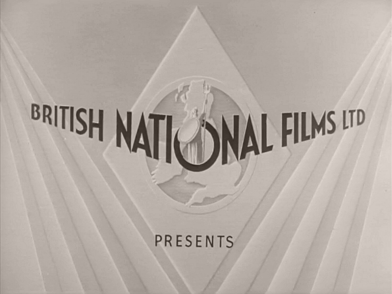 Main title from The Dummy Talks (1943) (1). British National Films presents