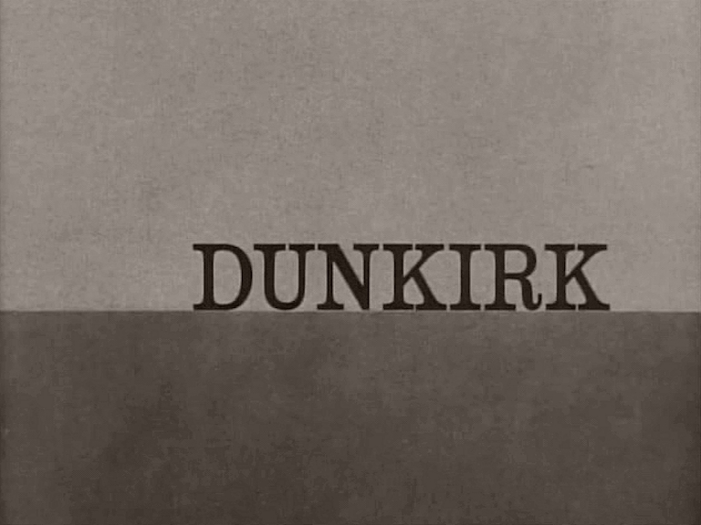 Main title from Dunkirk (1958)