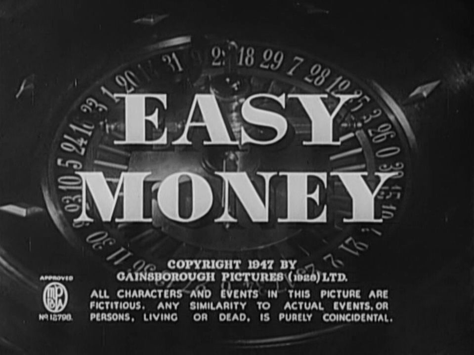 Main title from Easy Money (1948)
