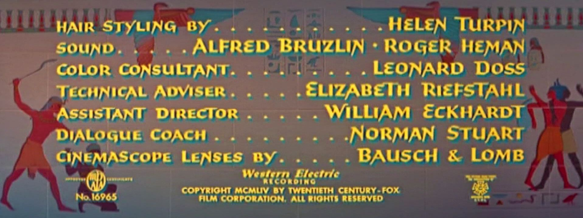 Main title from The Egyptian (1954) (11)