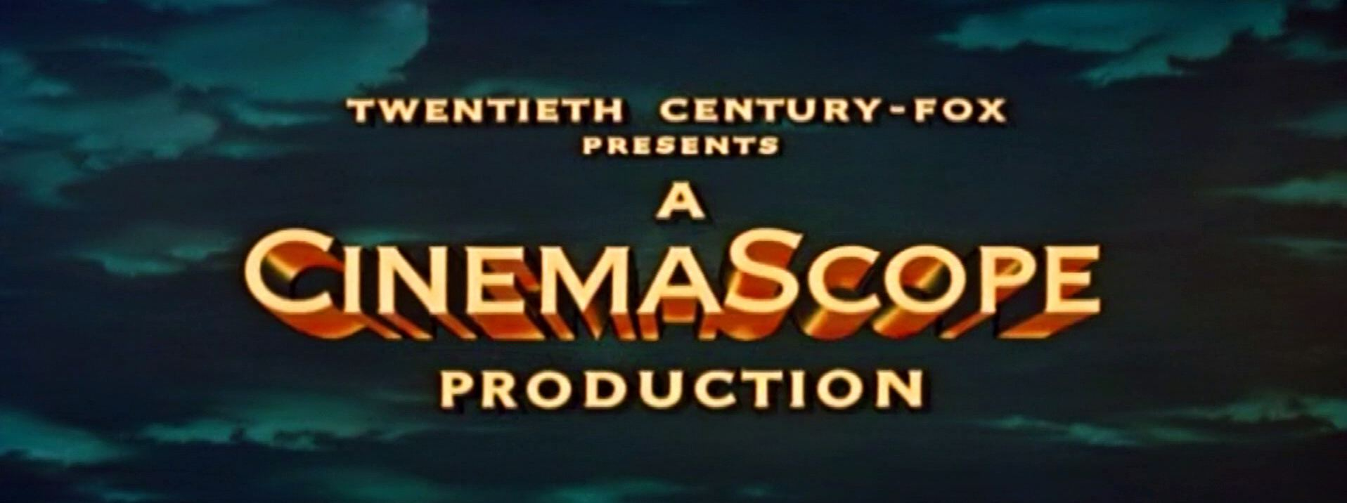 Main title from The Egyptian (1954) (2). Twentieth-Century Fox presents a CinemaScope production
