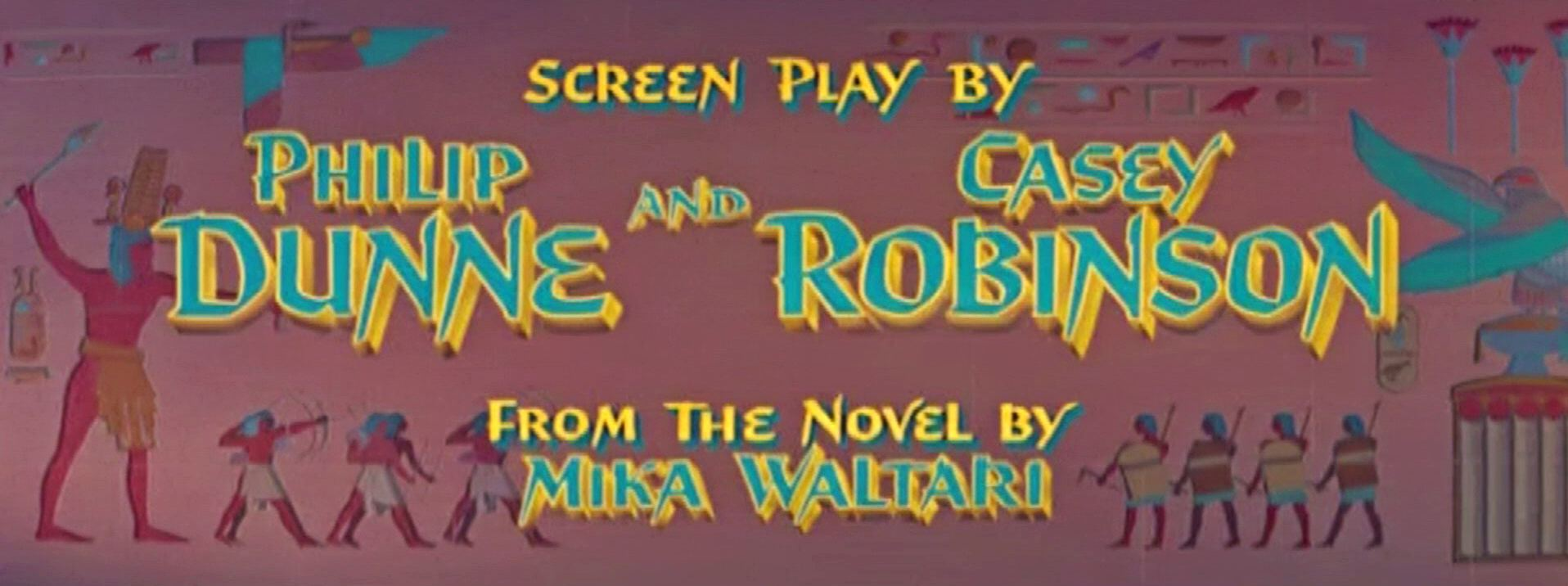 Main title from The Egyptian (1954) (7)