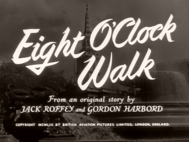 Main title from Eight O'Clock Walk (1954)
