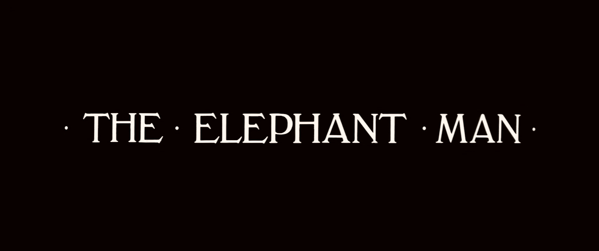 Main title from The Elephant Man (1980) (5)