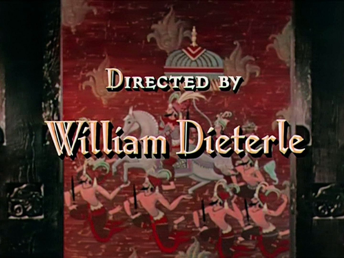 Main title from Elephant Walk (1953) (11). Directed by William Dieterle